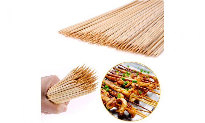 سیخ چوبی بامبو 35 سانتی