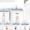 سرویس آشپزخانه 22 پارچه لیمون مدل چهارگوش