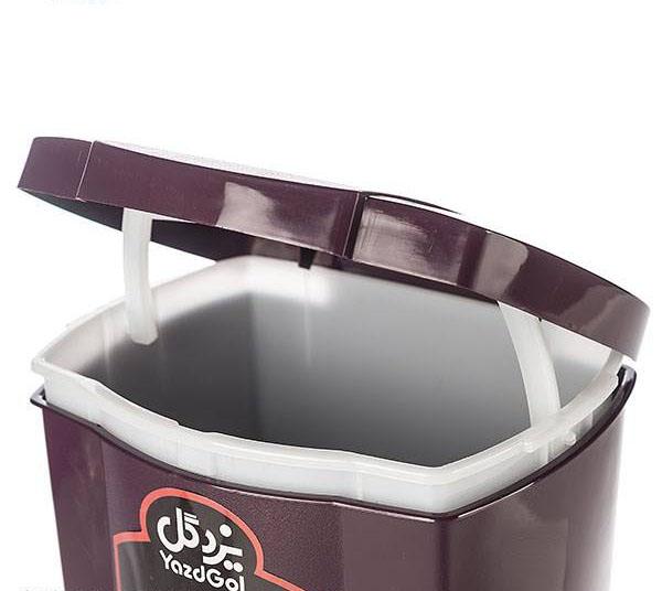 سطل زباله پدالی بزرگ یزدگل 510