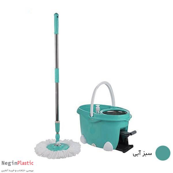 سطل و تی چرخشی پدالی همارا Rotating Bucket 8699