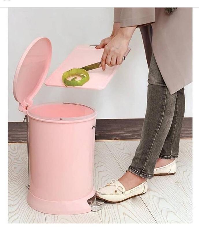 سطل پدالی ۲۰ لیتری لیمون
