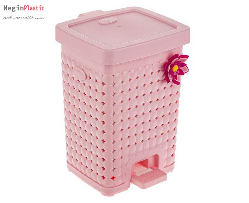 سطل زباله دو جداره هم کت مدل مایا کد ۲۴۲۴