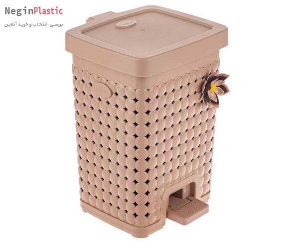 سطل زباله دو جداره هم کت مدل مایا کد 2424