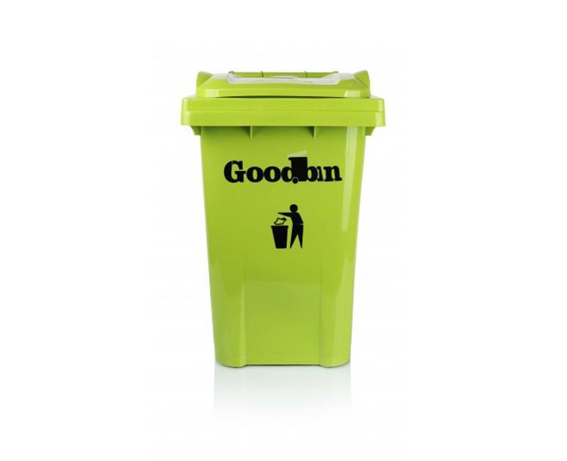 مخزن زباله ۴۰ لیتری ساده هوم کت مدل goodbin