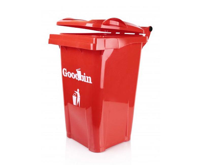 مخزن زباله 40 لیتری ساده هوم کت مدل goodbin